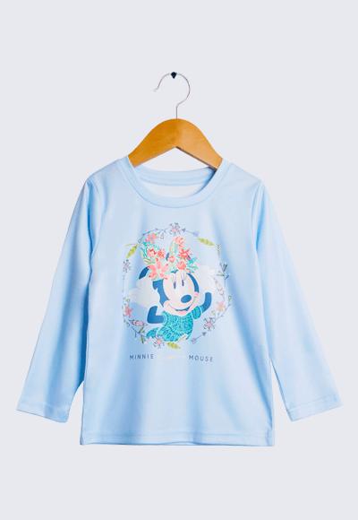 【為愛加衣】維納斯米妮漾彩圓領輕暖衣(水漾藍 童100-150)