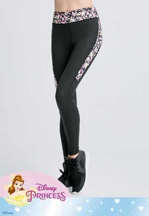 Belle繁花奇幻纖腿曲線活腿壓力褲(活力黃 女S-XL)