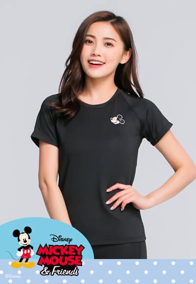 歡樂米奇遠紅外線活力輕動衣(經典黑 女S-XL)