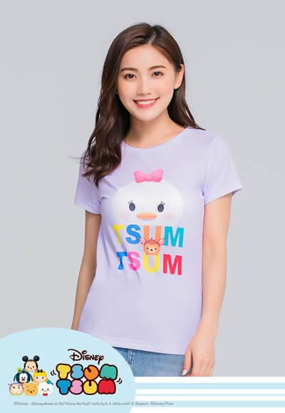 黛西TsumTsum防曬排汗涼感衣(薰衣紫 女S-XL)
