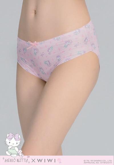 美夢Hello Kitty遠紅外線抑菌無痕內褲(戀愛粉 女M-2XL)