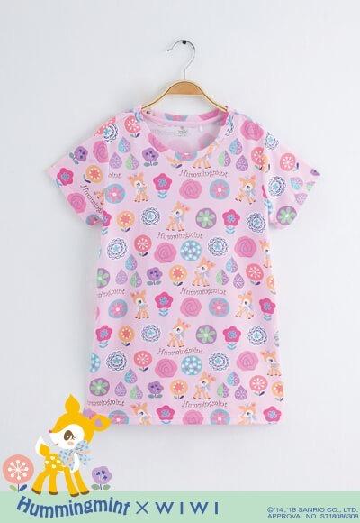 散步哈妮鹿防曬排汗長版涼感衣(戀愛粉 童100-150)