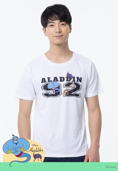 時尚阿拉丁防曬排汗涼感衣(純淨白 男M-3XL)