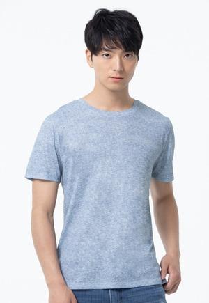 素面防曬排汗涼感衣(麻花灰 男M-3XL)