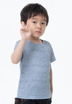 素面防曬排汗涼感衣(麻花灰 童70-150)