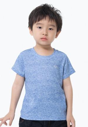 素面防曬排汗涼感衣(麻花藍 童70-150)