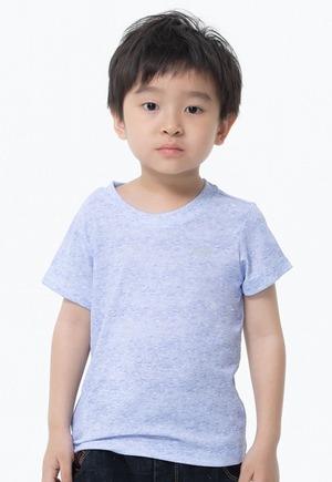 素面防曬排汗涼感衣(麻花紫 童70-150)