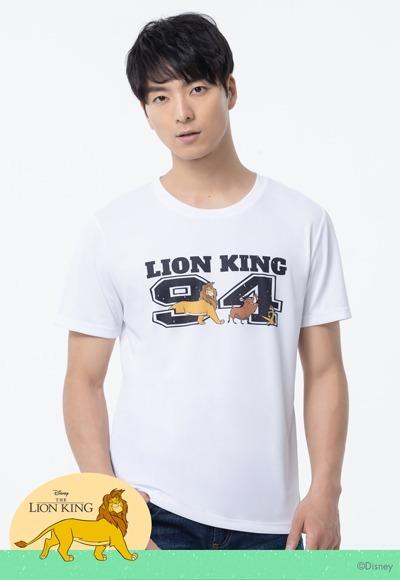 時尚獅子王防曬排汗涼感衣(純淨白 男M-3XL)
