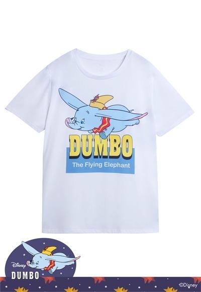 飛行小飛象防曬排汗涼感衣(純淨白 男M-3XL)