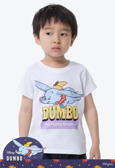 飛行小飛象防曬排汗涼感衣(純淨白 童100-150)
