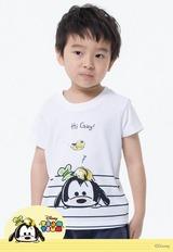 你好TsumTsum防曬排汗涼感衣 (純淨白 童100-150)