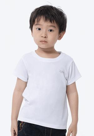 素面防曬排汗涼感衣(純淨白 童70-150)