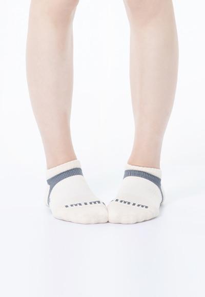 活力運動抑菌船型除臭襪(米灰色 女M-XL)