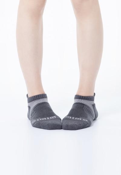 活力運動抑菌船型除臭襪(銀河灰 女M-XL)