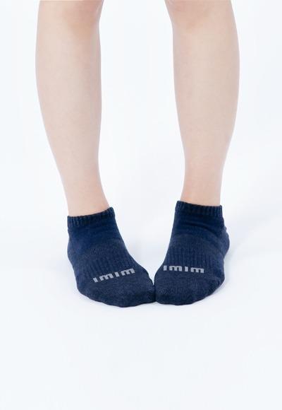 舒適休閒抑菌船型除臭襪(湛海藍 女M-L)