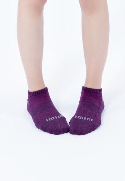 舒適休閒抑菌船型除臭襪(羅蘭紫 女M-L)