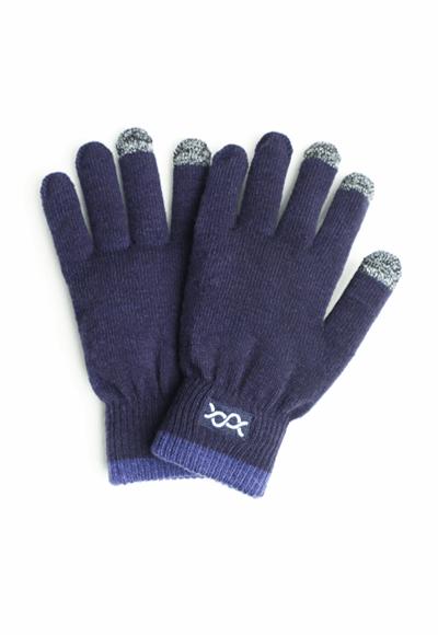 遠紅外線溫灸發熱觸控手套(湛海藍 中性F)