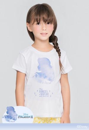 渲染安娜防曬排汗短版涼感衣(純淨白 童100-150)