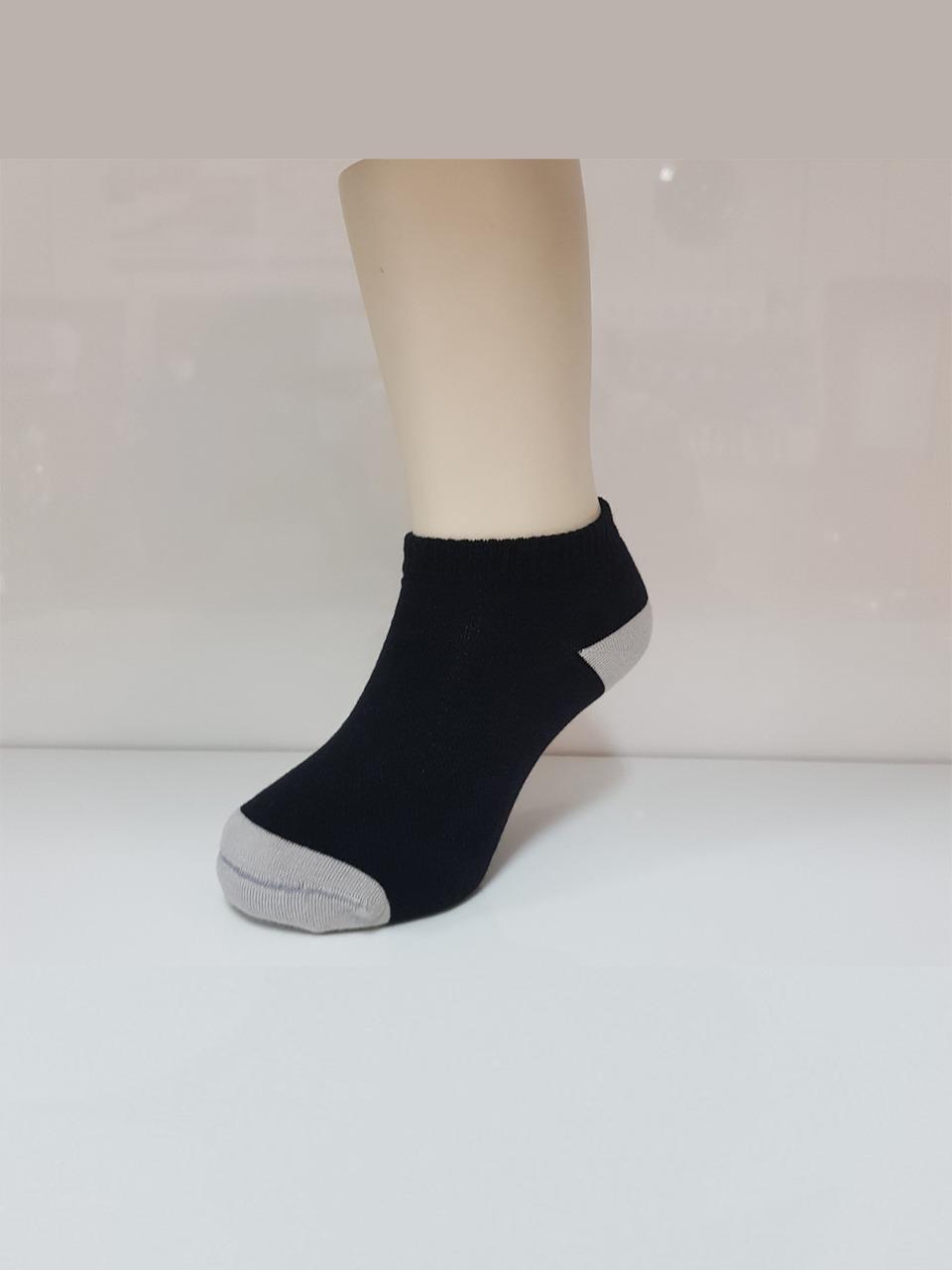 細針網格氣墊船型除臭襪(經典黑 童S-L)