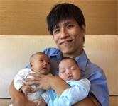 雙胞胎連體嬰弟弟-忠義的太太蔣文燕產後分享