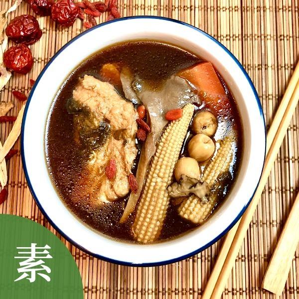 滋補藥膳素魚湯