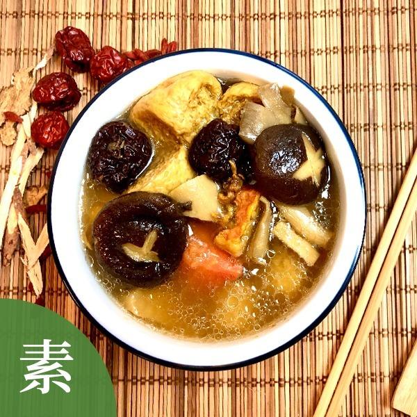 黃金蟲草百菇湯