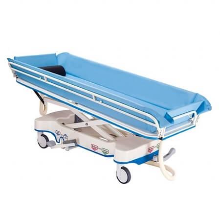 不鏽鋼油壓昇降沐浴床(中控輪) YH031-5 ~ 網路不販售,請來電洽詢
