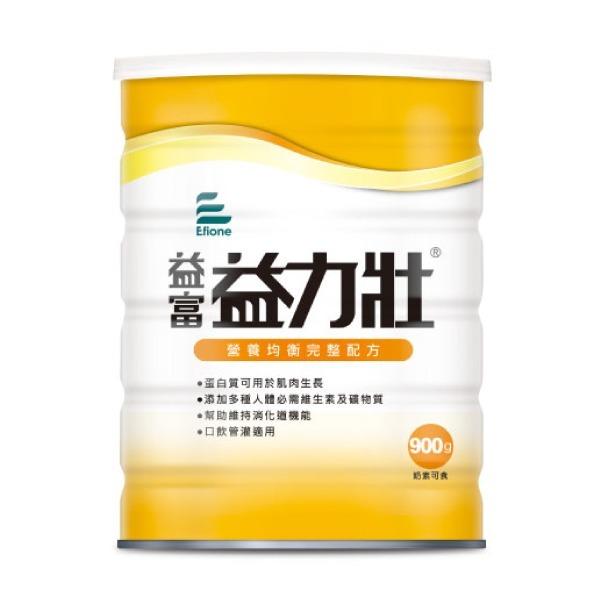 【益富】益力壯 營養均衡配方 900g 單罐