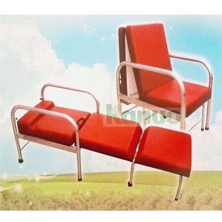加寬型坐臥兩用陪伴床椅陪伴椅(不鏽鋼) 609