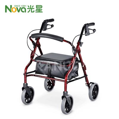 【光星NOVA】鋁製四輪助行車 V4206