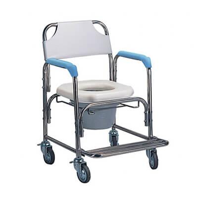 【耀宏】不鏽鋼洗澡椅便器椅(軟墊座)YH125