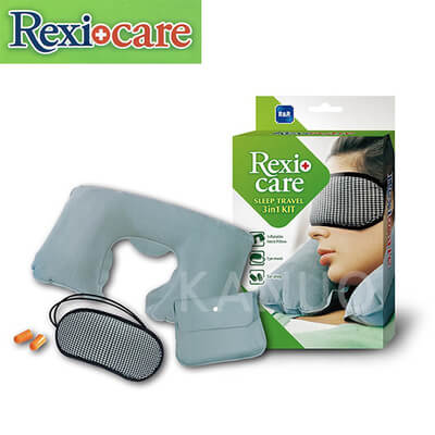 【REXICARE】 3in1 旅行用安眠組合