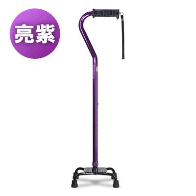 【富士康】小四腳拐杖 色彩繽紛系列 FZK-2037 亮紫色