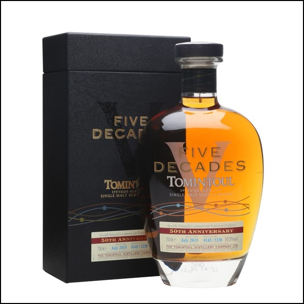 Tomintoul Five Decades Bot.2015 50th Anniversary 70cl 50%
