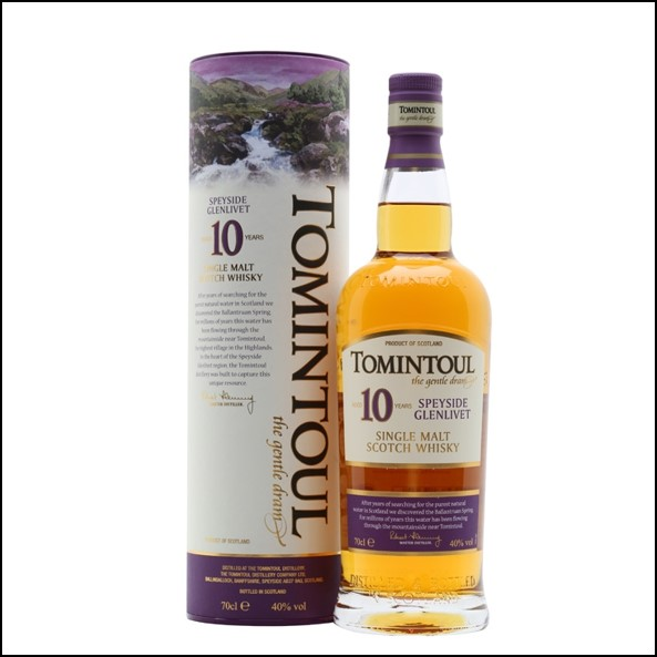 Tomintoul 10 Year Old 70cl 40%