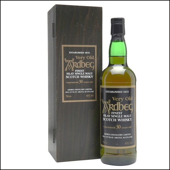 ARDBEG 30 YEAR OLD (WOODEN BOX) 70cl 40%