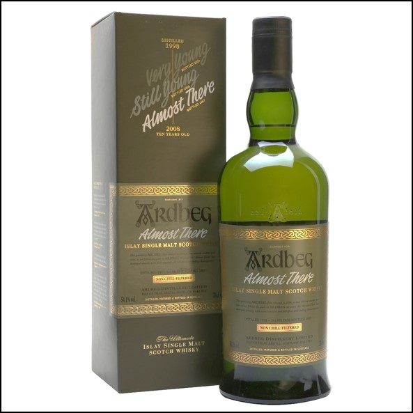 ARDBEG 1998-2007 Almost There 70cl 54.1%
