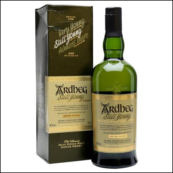 ARDBEG 1998-2006 Still Young Gift Box 70cl 56.2%