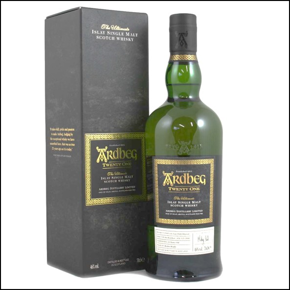 Ardbeg 21 Year Old  Committee Release 2016 70cl 46%