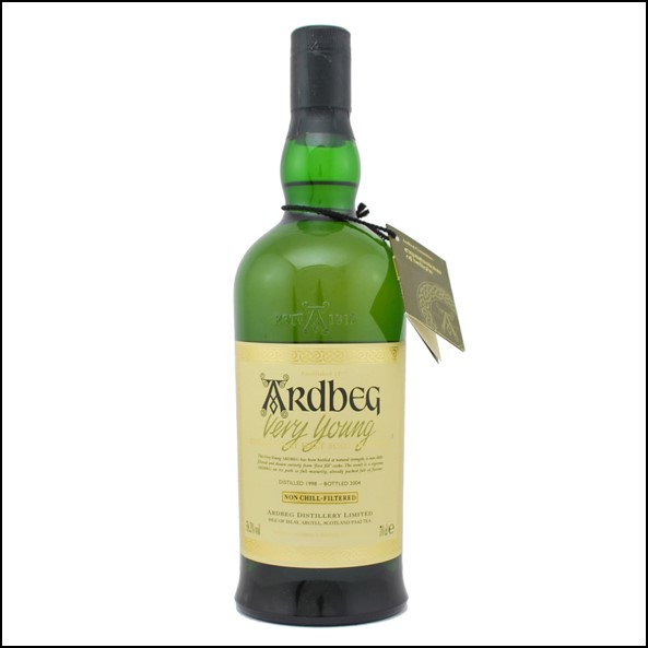 Ardbeg 1998-2004 Very Young  70cl 58.3%