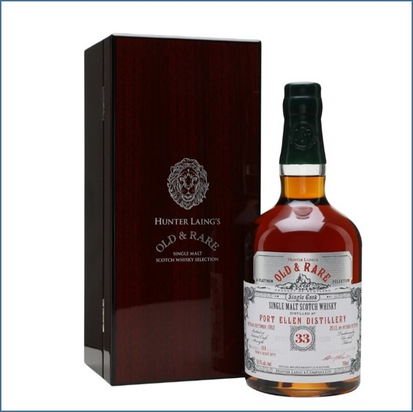 PORT ELLEN 1982 33 Year Old Sherry Butt Old & Rare 70cl 58.3%