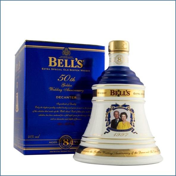 Bell's Queen's 50th Golden Wedding Anniversary 1947-1997