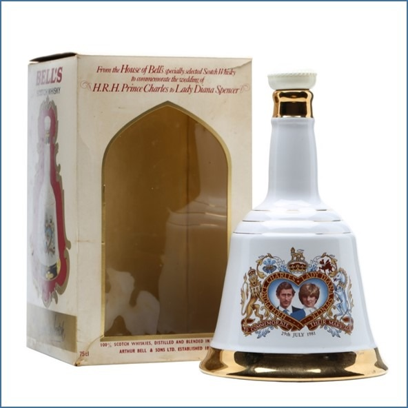BELL'S CHARLES & DIANA (1981) 75cl 43%