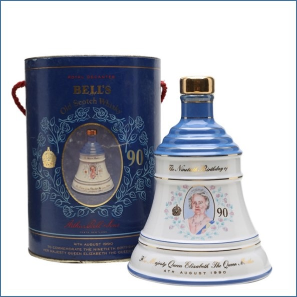 Bell's Queen Mother's 90th Birthday (1990) 75cl 43%