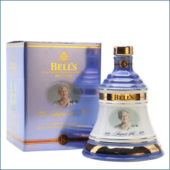 BELL'S QUEEN MOTHER'S 100TH BIRTHDAY 8 Year Old 70cl 40%