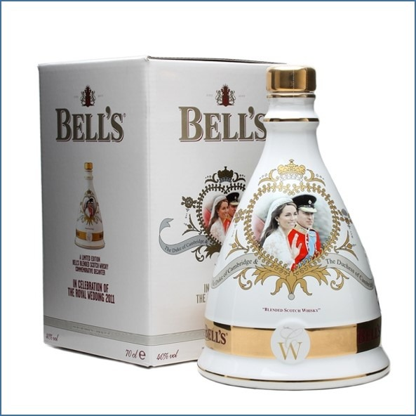 Bell's Royal Wedding 2011 Decanter 70cl 40%