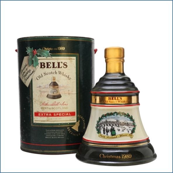 Bell's Christmas 1989 75cl 43%
