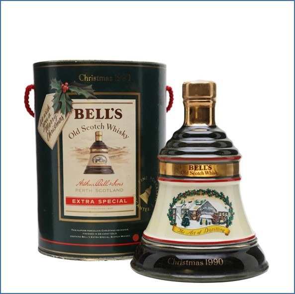 Bell's Christmas 1990 75cl 43%