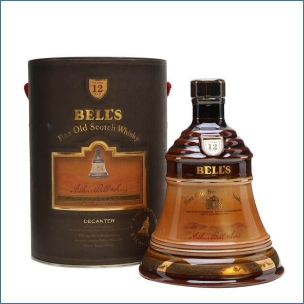 Bell's Dark Brown Decanter 12 Year Old 75cl 43%