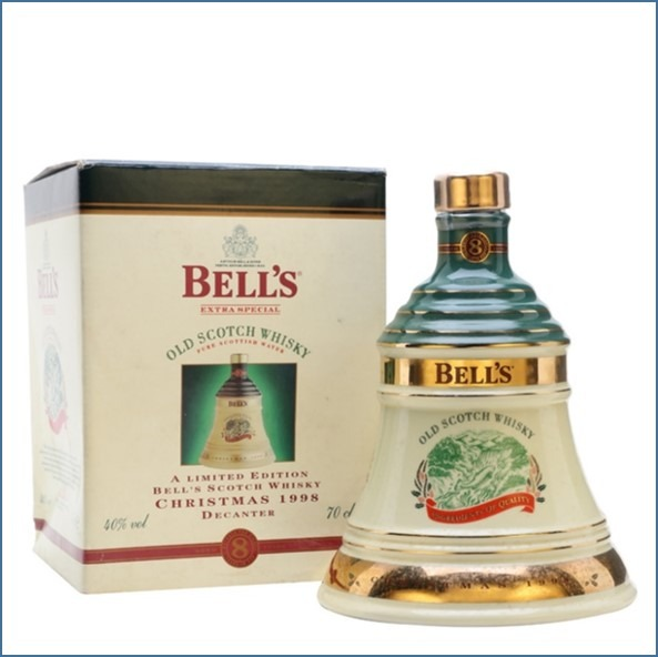 Bell's Christmas 1998 - 8 Year Old 70cl 40%